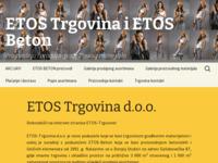 Slika naslovnice sjedišta: Etos Beton (http://www.etos-beton.hr)