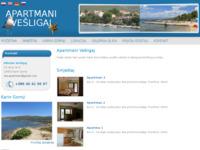 Slika naslovnice sjedišta: Apartmani Vešligaj - Karin Gornji (http://apartmani-vesligaj.hr/)