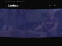 Slika naslovnice sjedišta: Čurkov - Strojarska proizvodnja i usluge (http://www.curkov.hr)