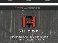 Slika naslovnice sjedišta: STH d.o.o. trgovina i servis (http://www.sth-ivanec.hr)