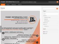 Slika naslovnice sjedišta: Foobit Informatika d.o.o. (http://foobit-informatika.hr)