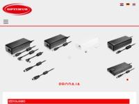 Frontpage screenshot for site: Optimus punjači (http://punjaci.hr)