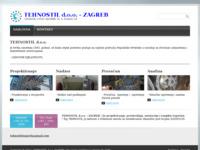 Frontpage screenshot for site: Tehnostil d.o.o. Zagreb (http://tehnostil.hr)