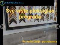 Slika naslovnice sjedišta: Cetinja d.o.o. - Staklo oprema (http://staklooprema-cetinja.hr)