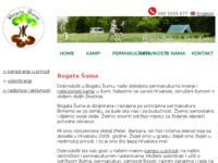 Slika naslovnice sjedišta: Permakultura, igraonice, sumski vrt, prirodno igraliste u Vojnicu (Karlovac) (http://www.bogatasuma.hr)