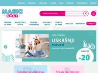Slika naslovnice sjedišta: Magic Baby - dječja oprema, kolica, autosjedalice, igračke, dojenje, kupanje (http://www.magicbaby.hr)
