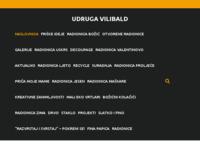 Frontpage screenshot for site: (http://www.vilibald.hr)