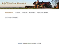 Slika naslovnice sjedišta: Seoski turizam Šimanovic (http://www.simanovic.hr)