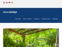 Frontpage screenshot for site: Villa Andrija - Ston - Supavo (http://www.villa-andrija.hr)