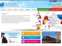 Frontpage screenshot for site: Katedra Trogir - škola stranih jezika (http://www.katedra-trogir.hr)