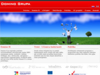 Frontpage screenshot for site: (http://www.dominogrupa.hr)
