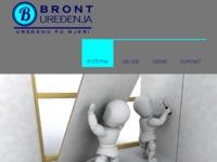 Slika naslovnice sjedišta: Bront uređenja (http://www.bront-uredjenja.hr)