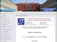 Slika naslovnice sjedišta: UGST-Udruga gluhih i nagluhih osoba grada Splita i Županije splitsko-dalmatinske (http://www.ugst.hr)