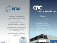 Frontpage screenshot for site: Cras d.o.o (http://www.cras.hr)