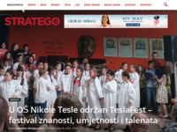 Frontpage screenshot for site: Stratego.hr (http://www.stratego.hr)