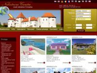 Frontpage screenshot for site: Nekretnine Croatia - agencija za poslovanje nekretninama (http://www.nekretninecroatia.com.hr)
