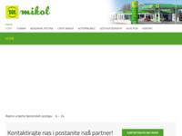 Slika naslovnice sjedišta: Benzinske postaje Mikol d.o.o. (http://mikol.hr)