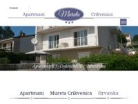 Slika naslovnice sjedišta: Crikvenica Apartmani (http://www.crikvenicacroatia.com)