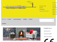 Frontpage screenshot for site: Puntižel - proizvodnja dimnjaka i dimovodnih sustava (http://www.puntizel.hr)