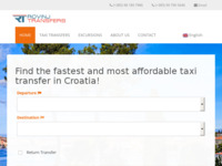 Slika naslovnice sjedišta: Taksi transferi Rovinj, Hrvatska (http://rovinjtransfers.com)