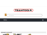 Frontpage screenshot for site: TeamTools (http://teamtools.hr)