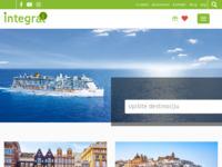 Frontpage screenshot for site: Integral Zagreb d.o.o. turistička putnička agencija (http://www.integral-zagreb.hr/)
