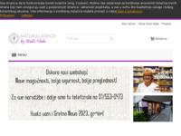 Frontpage screenshot for site: Naturala Shop (http://shop.naturala.hr/)