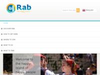 Frontpage screenshot for site: Turistička zajednica grada Raba (http://www.rab-visit.com)