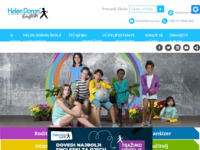 Frontpage screenshot for site: Helen Doron English (http://www.helendoron.hr)