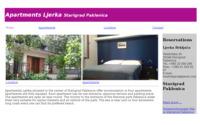 Frontpage screenshot for site: Apartments Ljerka Starigrad Paklenica (http://www.apartment-ljerka.hr)