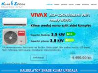 Slika naslovnice sjedišta: Klima Zirdum d.o.o. (http://www.klima-zirdum.hr/)