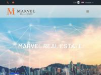 Frontpage screenshot for site: Marvel nekretnine (http://www.marvel-nekretnine.hr/)