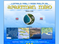 Frontpage screenshot for site: Apartman Miro - Baška Voda (http://www.croatia-baskavoda.com)
