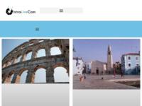 Frontpage screenshot for site: Uživo kamere iz cijele Istre i Kvarnera (http://istralivecam.hr)