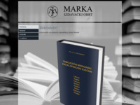 Frontpage screenshot for site: Izdavaštvo Marka (http://izdavastvo-marka.hr/)