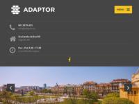 Frontpage screenshot for site: Adaptor - adaptacija stana (http://adaptor.hr/)