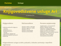 Frontpage screenshot for site: (http://www.ari-smit.hr)