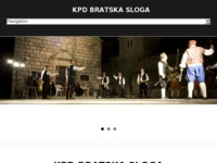 Frontpage screenshot for site: (http://kpd-bratskasloga.hr)