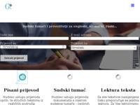 Frontpage screenshot for site: Prevoditelji i sudski tumači za engleski, njemački, ruski... (http://global-link.hr)