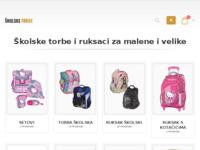 Slika naslovnice sjedišta: Školske torbe i ruksaci, pernice, oprema za školu (http://www.skolske-torbe.com)
