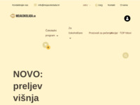 Frontpage screenshot for site: Moja čokolada (http://www.mojacokolada.hr/)