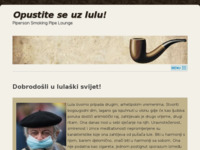 Frontpage screenshot for site: Piperson - site i forum posvećen pušenju lule (http://www.piperson.org/)