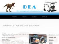 Slika naslovnice sjedišta: DEA Dumešić (http://www.dea-dumesic.hr)