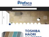 Frontpage screenshot for site: Klima centar Frigo Trade iz Zadra - prodaja, montaža i servis klima uređaja u Hrvatskoj (http://www.frigotrade.com)