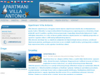 Frontpage screenshot for site: Apartmani Villa Antonio - Drage (http://www.apartmani-vila-antonio-drage.hr)