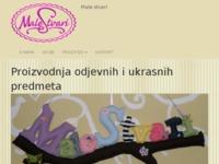 Slika naslovnice sjedišta: Male stvari - Proizvodnja odjevnih i ukrasnih predmeta (http://www.obrt-malestvari.hr)