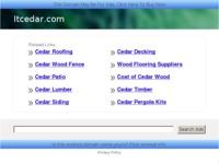 Frontpage screenshot for site: Backup - Cedar Informatika (http://itcedar.com)
