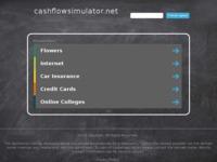 Frontpage screenshot for site: Cash Flow Simulator - virtualno poduzeće (http://cashflowsimulator.net)