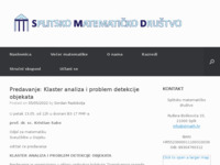 Frontpage screenshot for site: Splitsko matematičko društvo (http://www.stmath.hr/)
