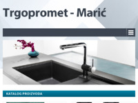 Frontpage screenshot for site: Trgopromet Marić (http://trgopromet-maric.hr/)